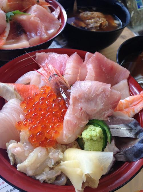 海鮮丼@女川