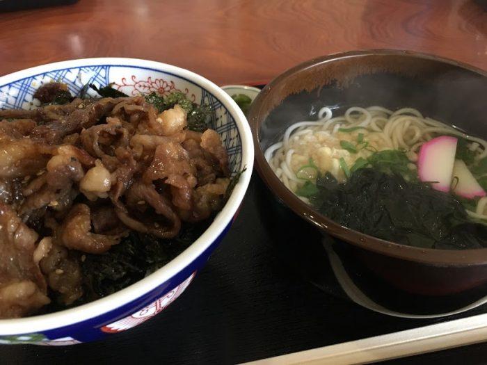 丼+うどん