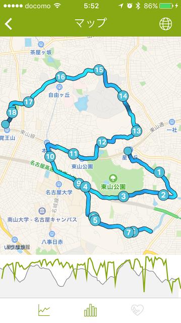 【名古屋モーニングラン】星ヶ丘~覚王山