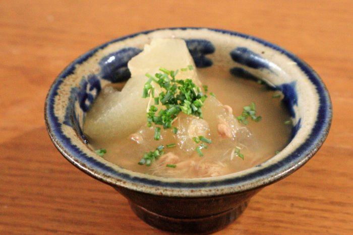 冬瓜とツナのスープ