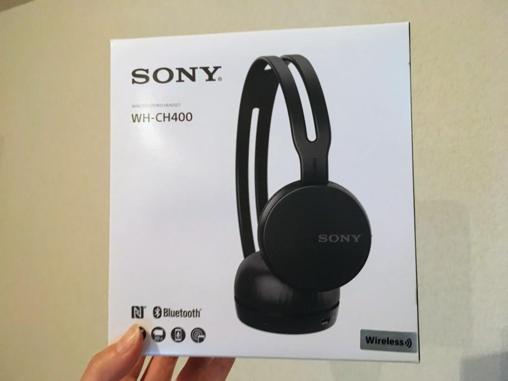 ソニー SONY ワイヤレスヘッドホン WH-CH400