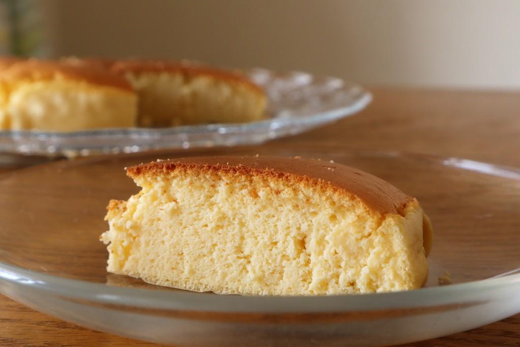 プロテインスフレチーズケーキ